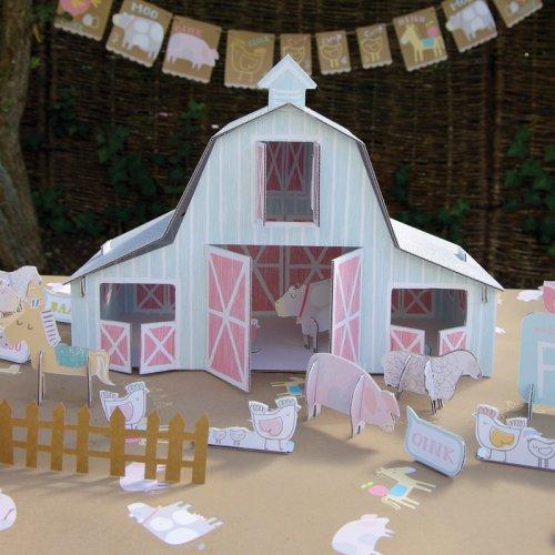 Farm Animals Baby Shower Ideas