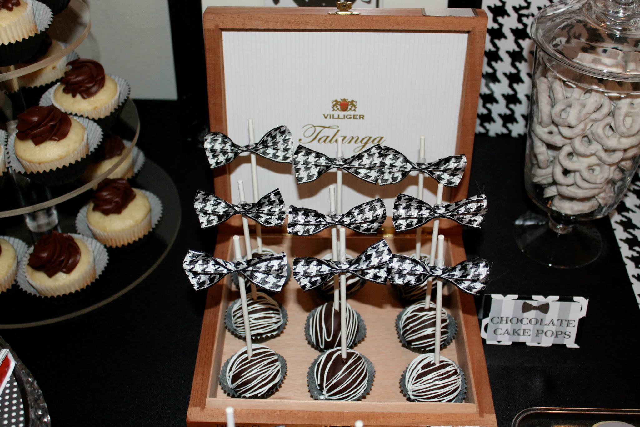 Little Gentleman Baby Shower cakepops Baby Shower Ideas Themes