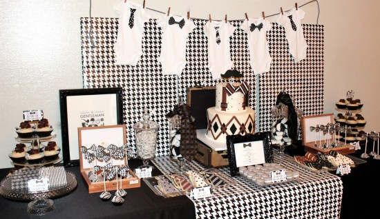 Awesome Little Gentleman Baby Shower Ideas