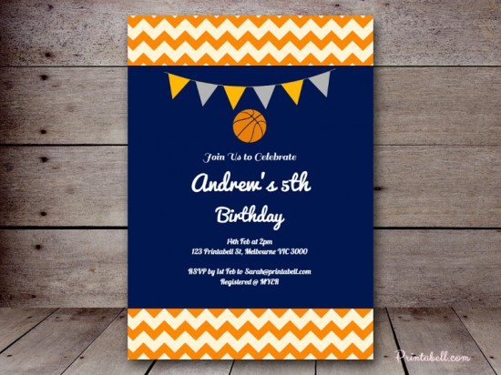 Basketball baby shower ideas baby shower ideas themes games can make your invitations look any which way you wish a basketball shaped invite is a popular choice to get your guests excited for the event theme filmwisefo Choice Image