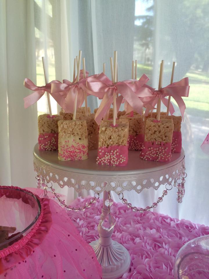 Tutu and Tiara Baby Shower treats