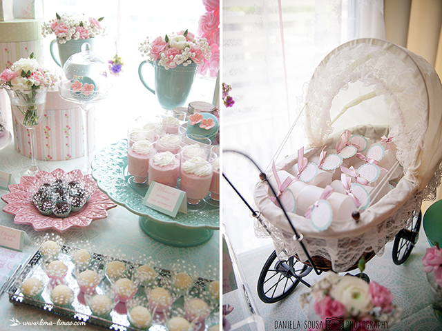 Vintage pastel baby christening baby shower ideas for Baby dedication decoration ideas
