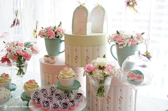 ... Vintage Pastel Baby Shower Ideas ...