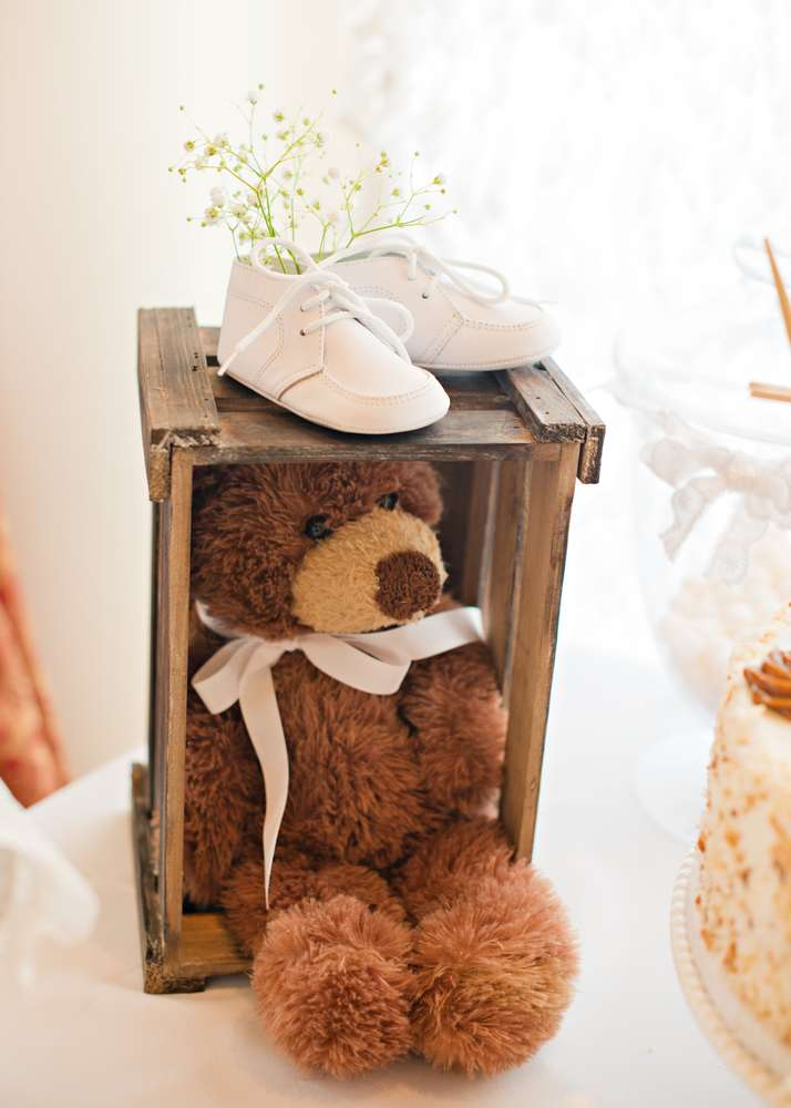 Vintage White Baby Shower Baby Shower Ideas Themes Games