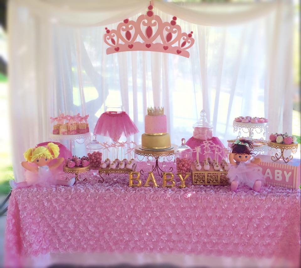 Charming ... Princess Baby Shower, Tutu And Tiara Baby Shower ...