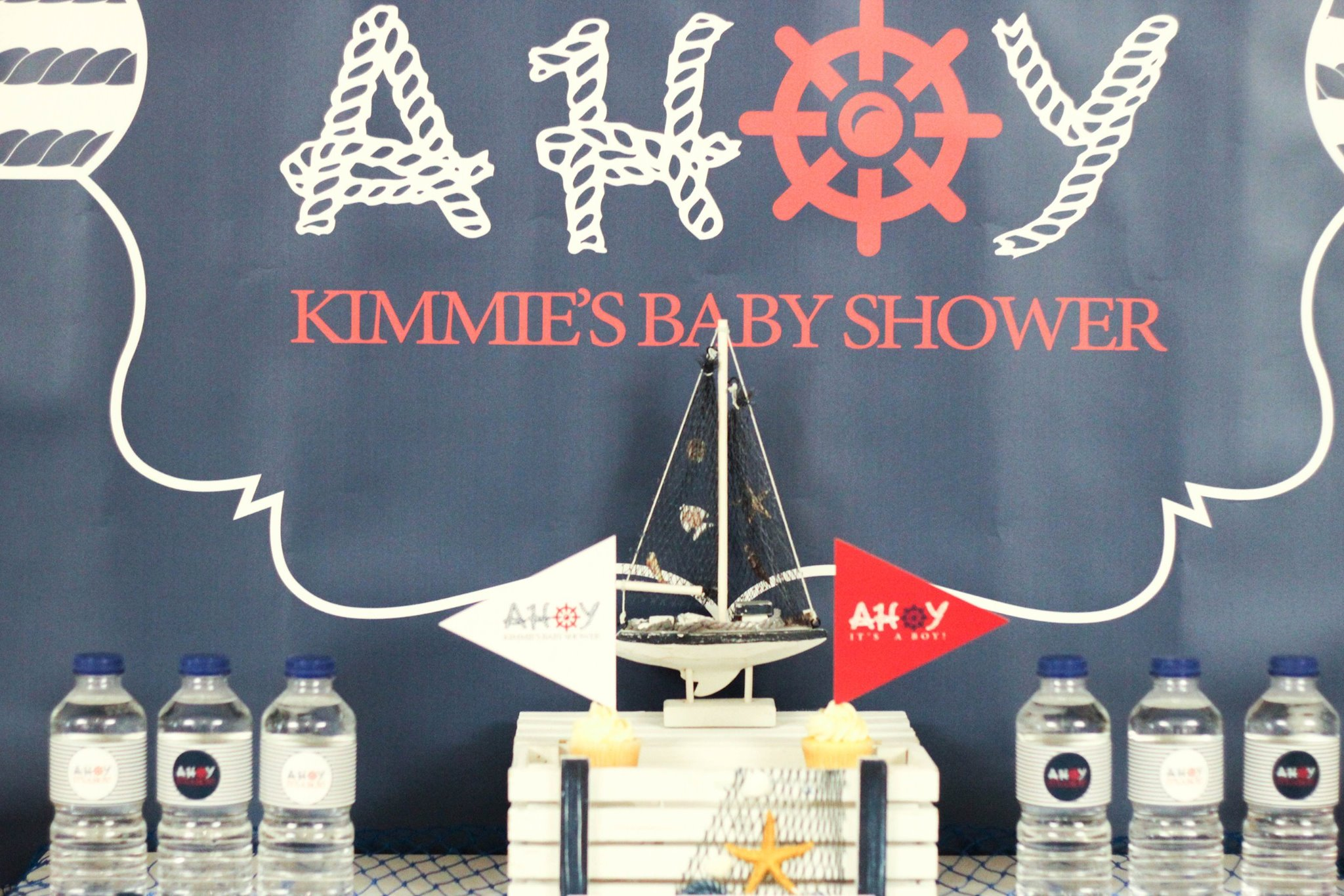 Nautical Themed Baby Shower Amazing Backdrops ...