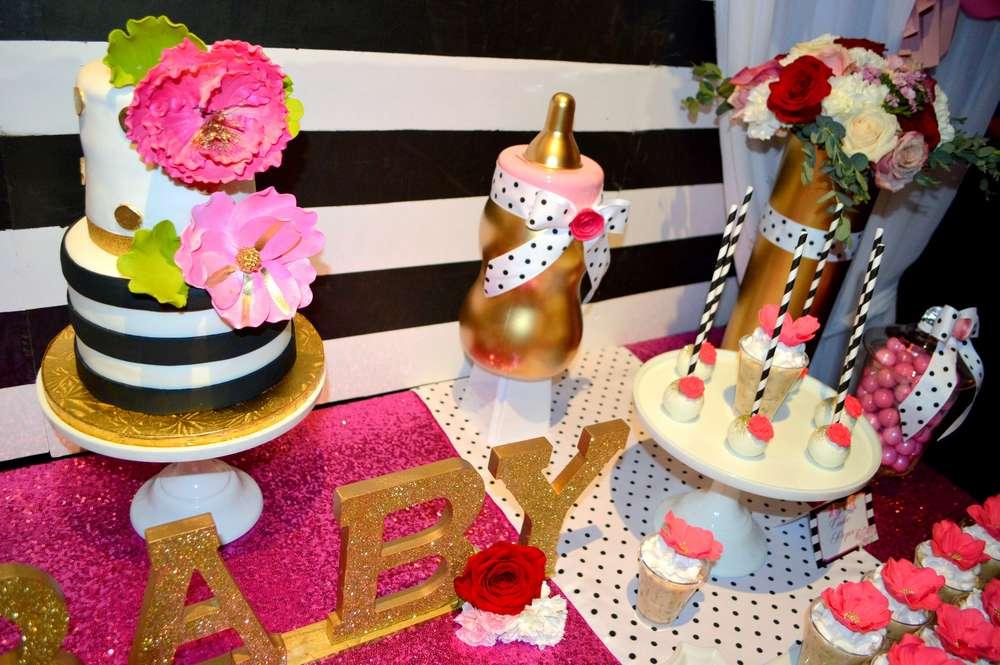 Kate Spade Inspired Baby Shower Cake ...