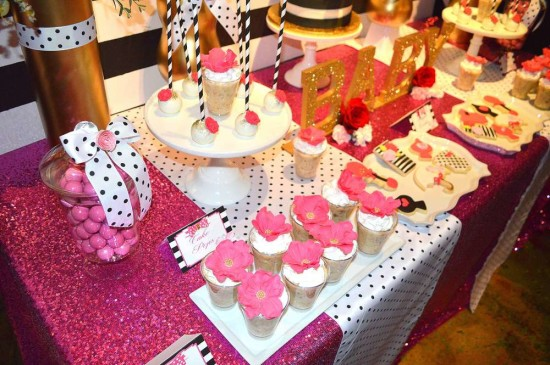 Kate Spade Inspired Baby Shower Baby Shower Ideas