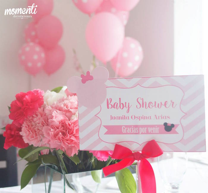 pink minnie mouse baby shower baby shower ideas themes games