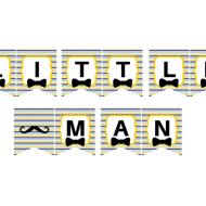 Free Little Man Banner