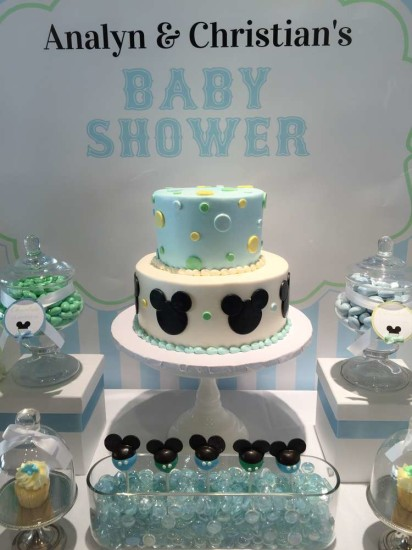 Mickey Mouse Baby Shower Cake Images : Baby Mickey Mouse Baby Shower - Baby Shower Ideas