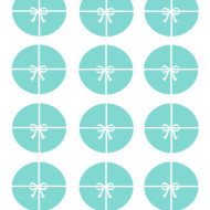 Tiffany Circle Toppers