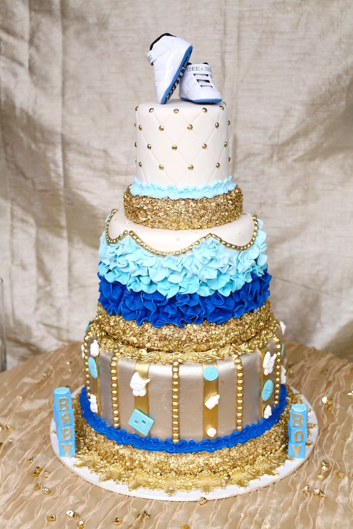 Royal Prince Baby Shower Cake Idea Baby Shower Ideas Themes Games