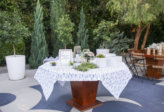 Sprinkle Baby Shower table setting