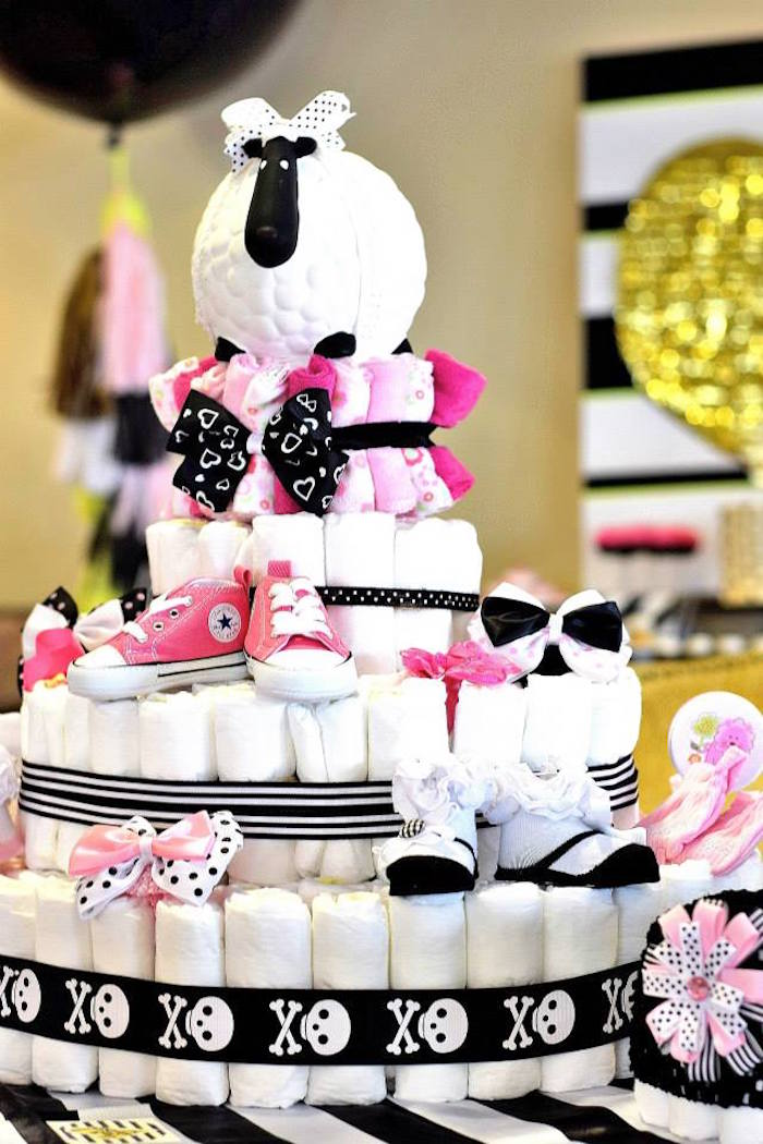 Glam Baby Shower Baby Shower Ideas Themes Games
