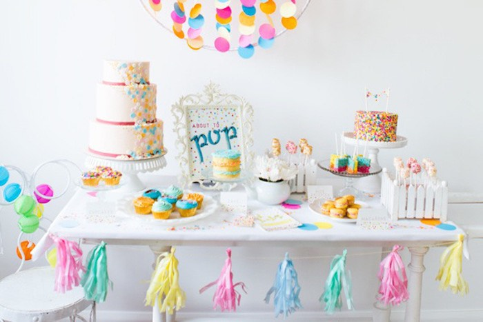 Lovely Confetti U0026 Sprinkles Baby Shower Ideas, About To Pop