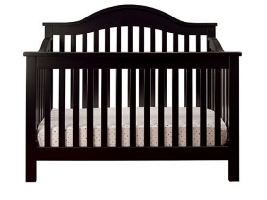 christmas nursery room crib