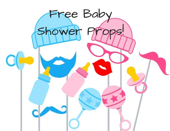 free baby shower photo booth props baby shower ideas themes
