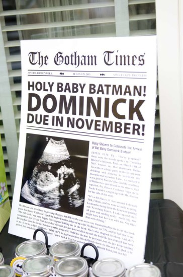 Batman Baby Shower Baby Shower Ideas Themes Games