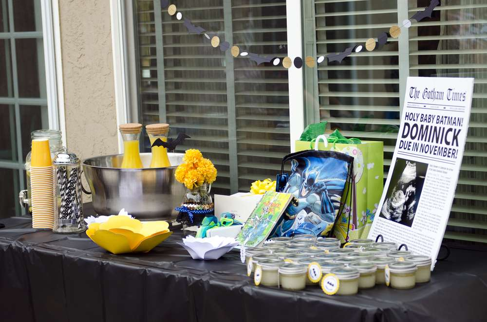 batman baby shower drink station baby shower ideas themes games