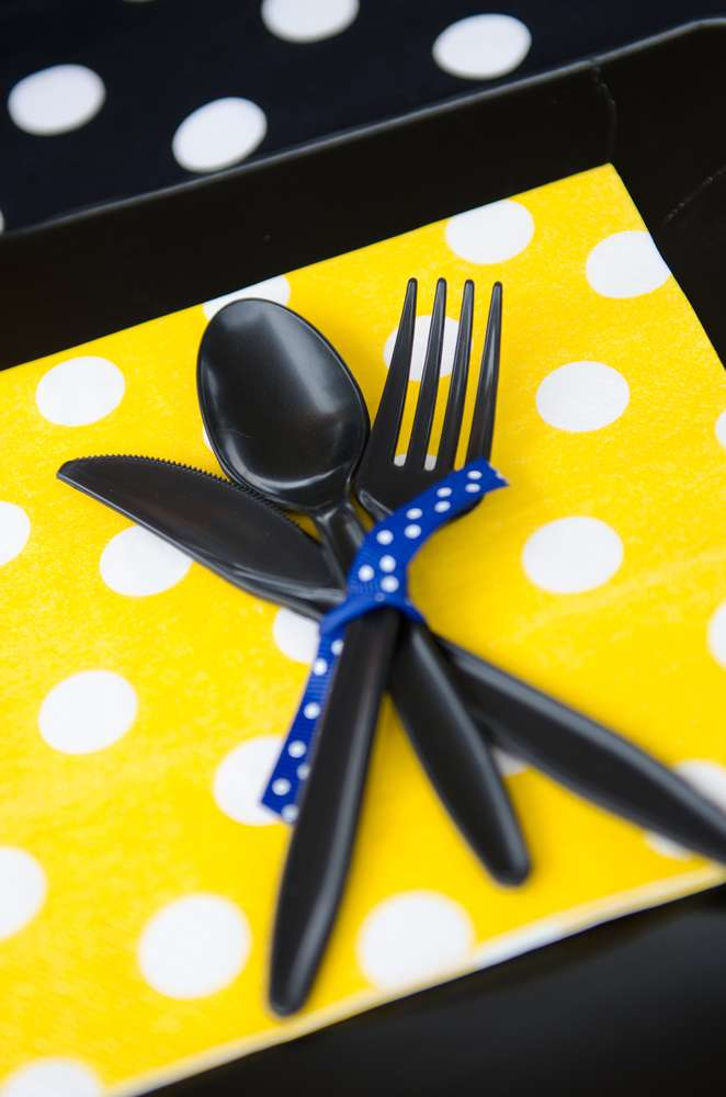 Batman Baby Shower Table Setting Baby Shower Ideas Themes Games