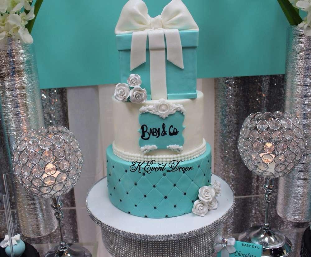 Tiffany Themed Baby Shower Cake Baby Shower Ideas