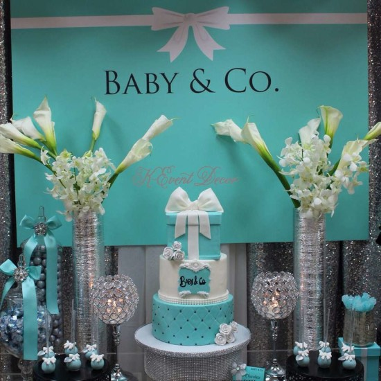 Tiffany Themed Baby Shower Ideas Themes