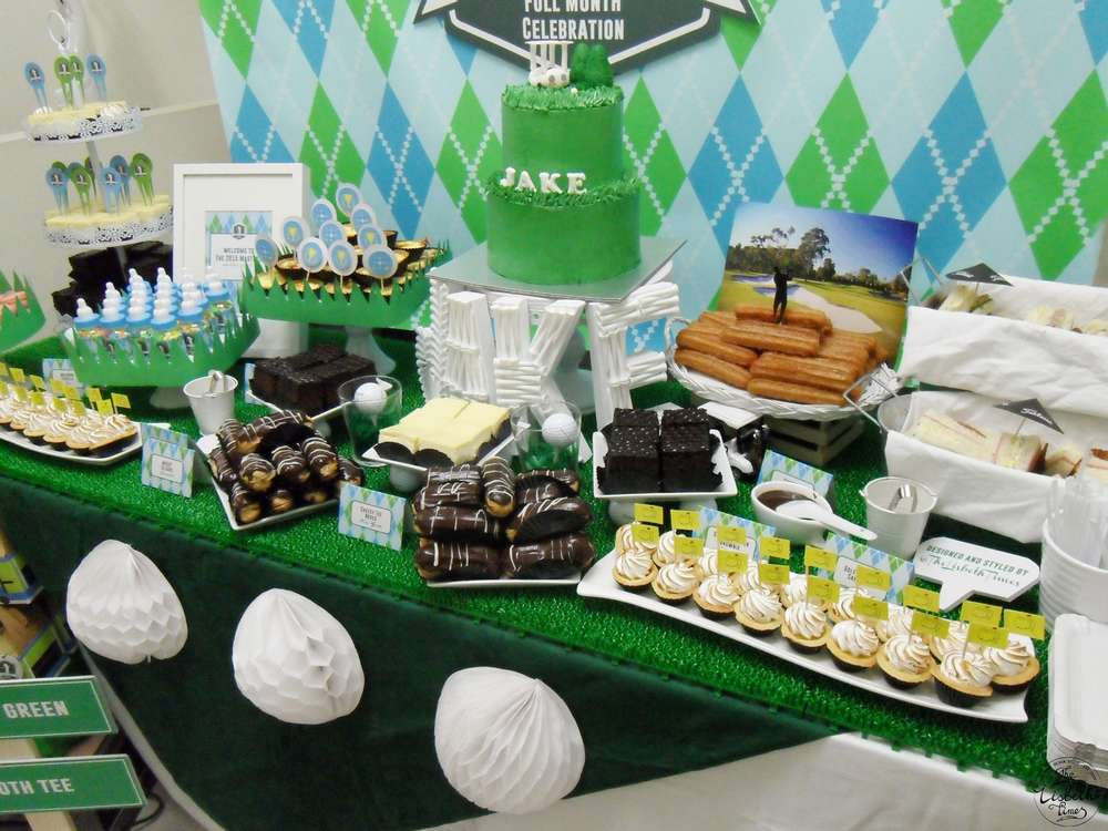 First masters tournament baby shower baby shower ideas themes games - Popular boy baby shower themes ...