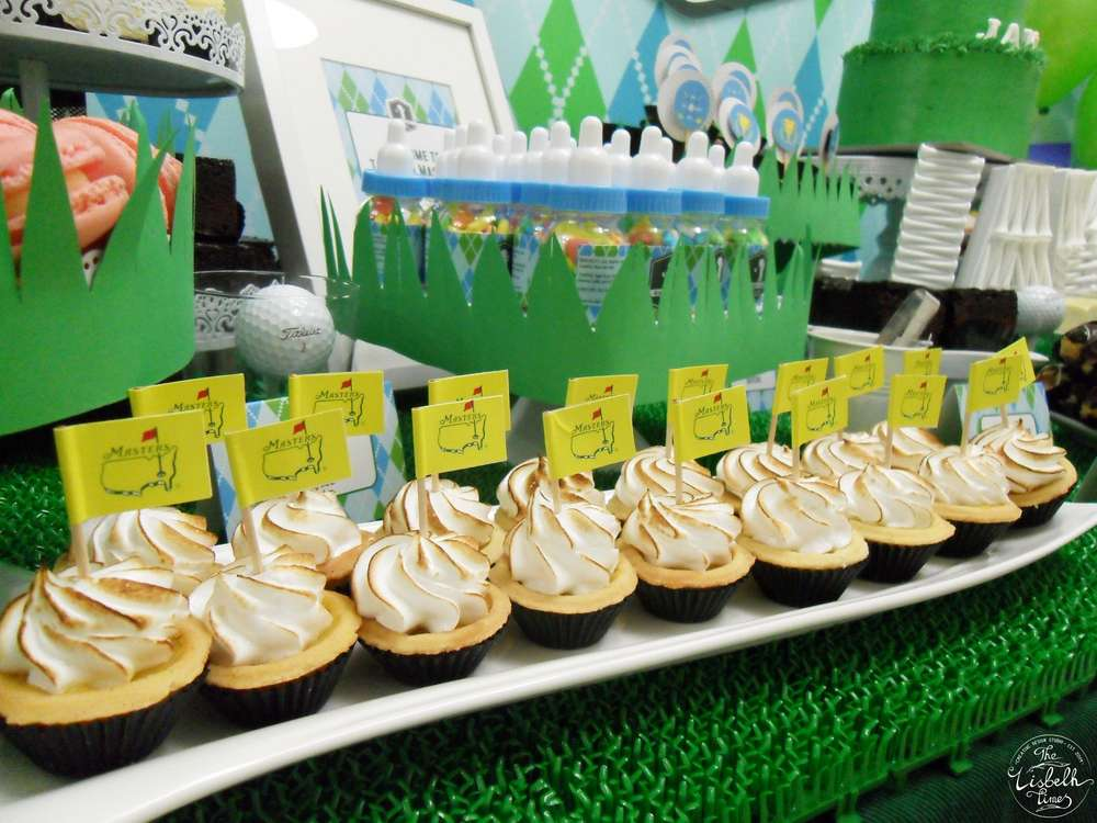 First Masters Tournament Baby Shower Baby Shower Ideas