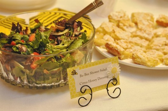 what-will-it-bee-baby-shower-citrus-honey-dressing-salad
