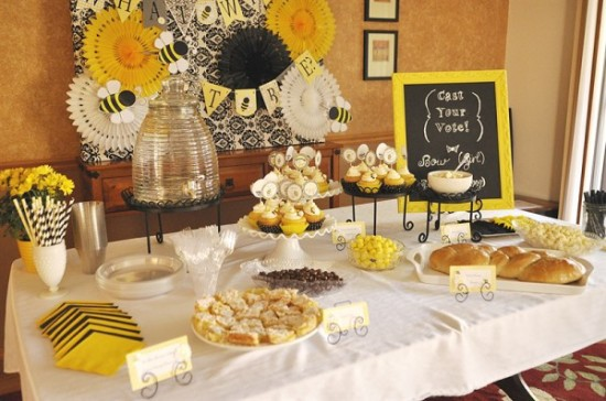 what-will-it-bee-baby-shower-main-table