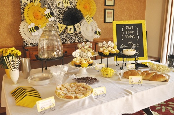 What Will It Bee Baby Shower Main Table