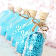 mermaid-baby-shower-favors-glitter