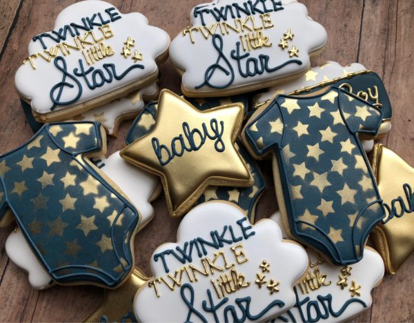 Twinkle Twinkle Gender Reveal Baby Shower Ideas Themes