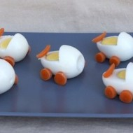 baby buggie egg food idea