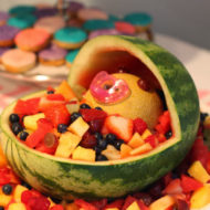 fruit-platter-baby-in-a-carriage-baby-shower-food-idea