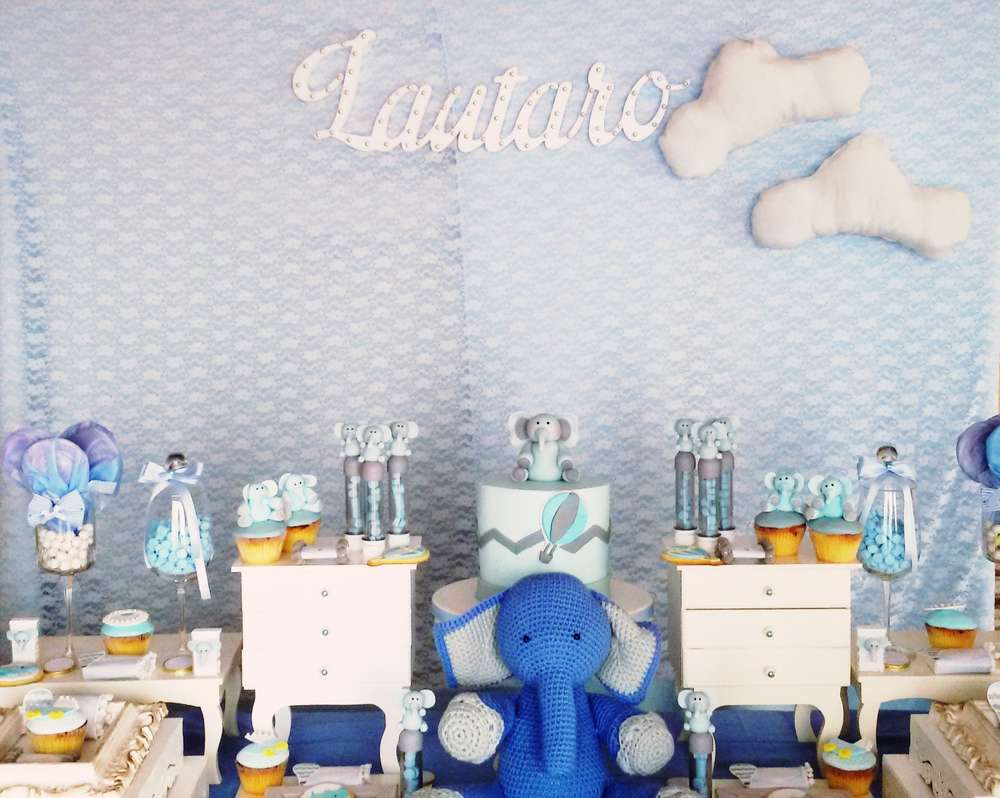 Little Elephant Baby Shower - Baby Shower Ideas - Themes ...