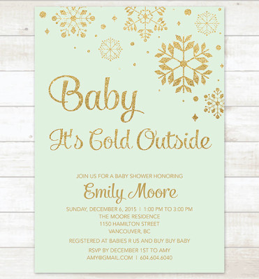 Baby It S Cold Outside Baby Shower Ideas Themes Games