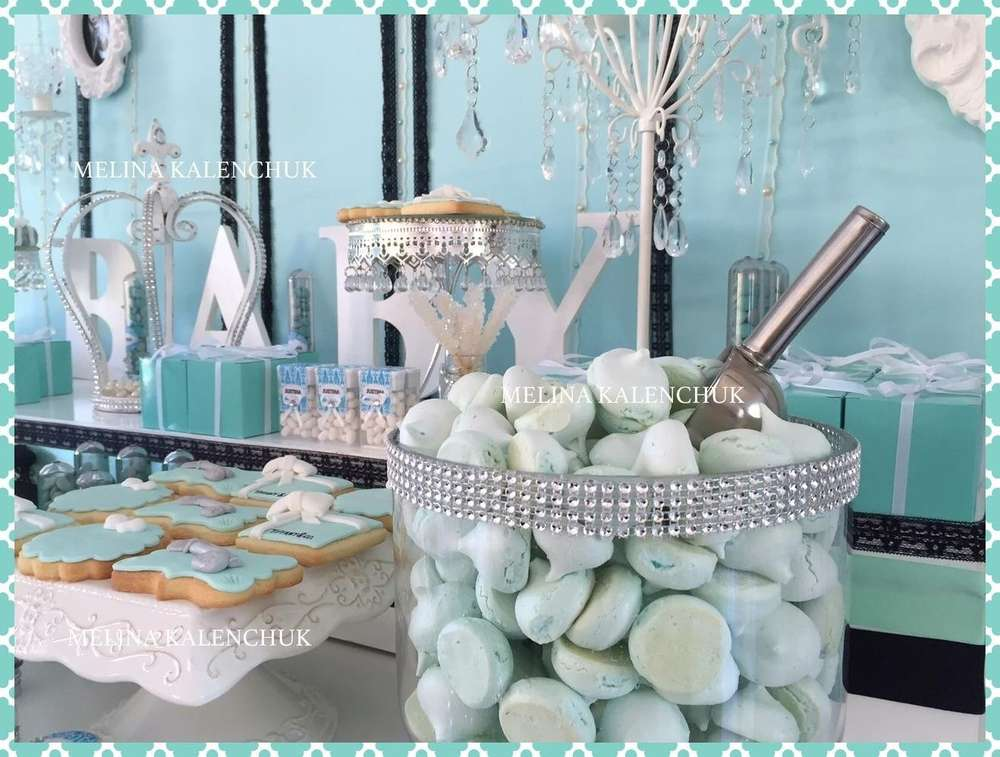 ... Tiffany Baby Shower Dessert Table ...