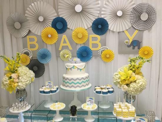 Star Themed Baby Shower Decor