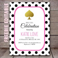 free-editable-kate-spade-baby-shower-birthday-party-invitation-polka-dots