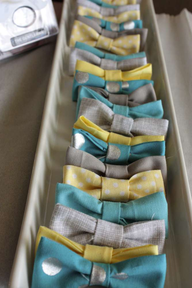 ... Mini Bow Tie Baby Shower Little Man Theme ...