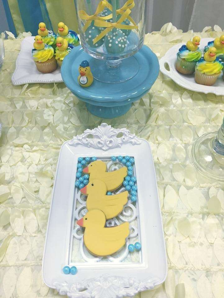 rubber ducky baby shower - baby shower ideas - themes