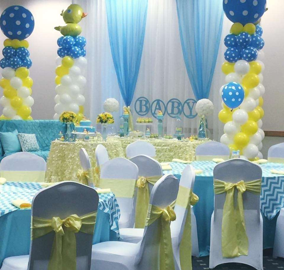 Rubber ducky baby shower baby shower ideas themes games for Baby shower decoration online