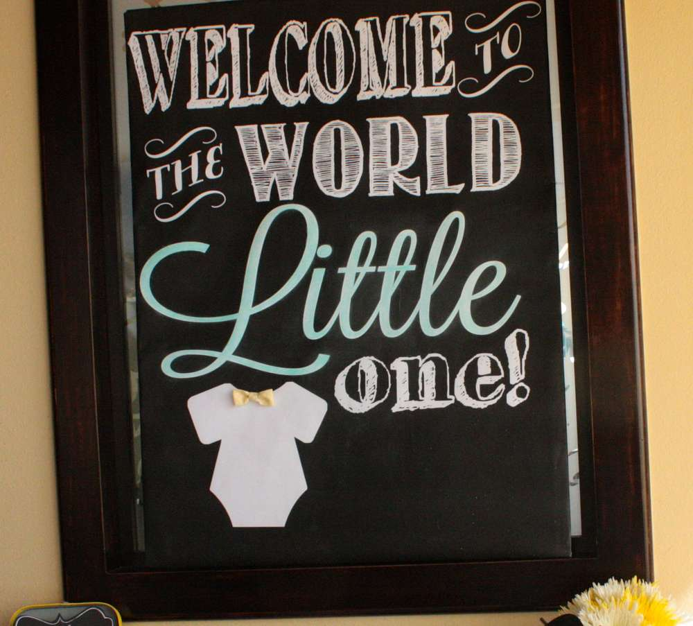 little man baby shower - baby shower ideas - themes