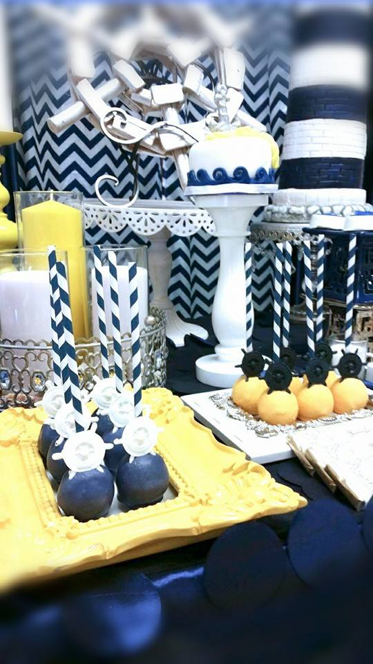 Blue And White Nautical Baby Shower Baby Shower Ideas