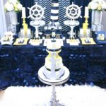 Blue and White Nautical Baby Shower