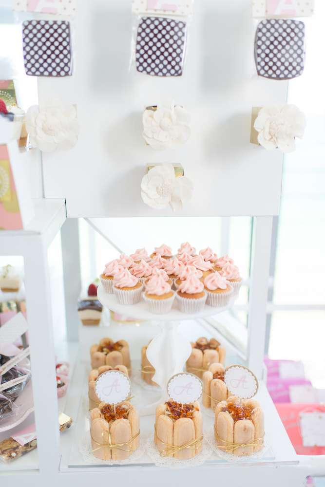 Elegant Pastel French Patisserie Baby Shower Baby Shower