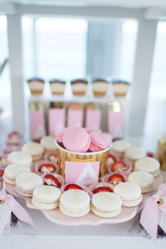 Elegant Pastel French Patisserie Baby Shower Baby Shower