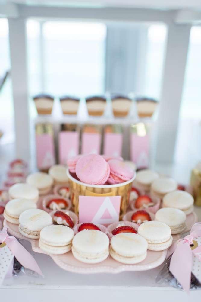 Elegant Pastel French Patisserie Baby Shower - Baby Shower ...